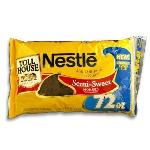 Nestle Chocolate Semi-Sweet Morsels - 72 oz. bag