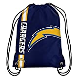 NFL San Diego Chargers 2015 Drawstring Backpack, Blue