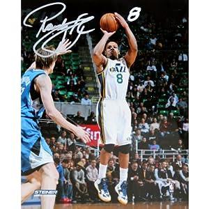 Randy Foye Utah Jazz Shooting Three-Pointer Signed 8x10 Photo by Steiner Sports