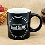 Seattle Seahawks Sculpted Warm Up Coffee Mug at Amazon.com