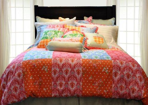 Pointehaven 8-Piece 100-Percent Cotton Luxury Bedding Ensemble, Clarissa, Cal King