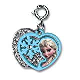 CHARM IT! Disney FROZEN Elsa 2 Part Heart Charm