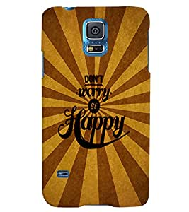 Fuson 3D Printed Quotes Designer back case cover for Samsung Galaxy S5 Neo - D4333