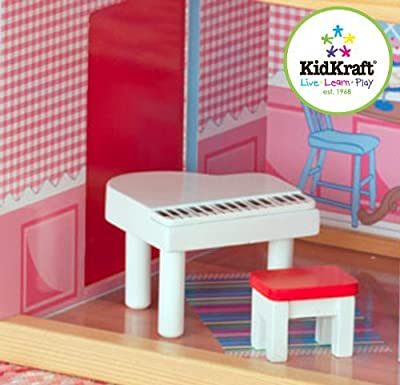 4 X KidKraft Chelsea Doll Cottage with Furniture by KidKraft