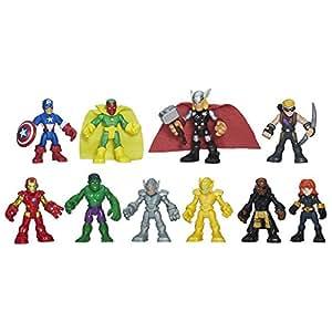 Amazon.com: Playskool Heroes Marvel Super Hero Adventures Ultimate