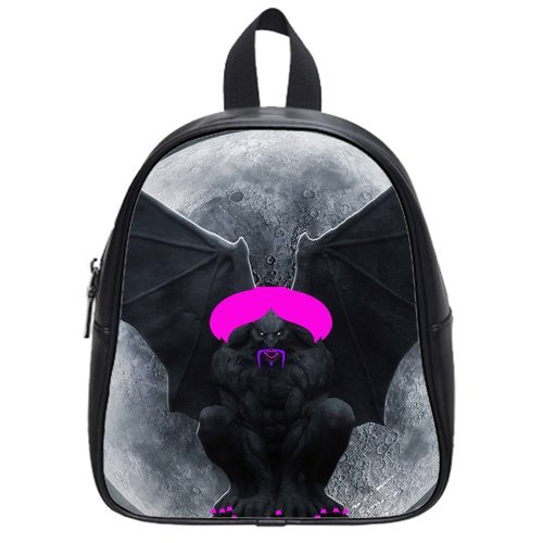 Monster Gargoyle High-Grade Pu Leather School Bag/Backpack(Big)