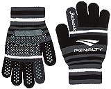 (ペナルティ)PENALTY サッカー フットサル 手袋 ジュニア ニットグローブ PE6719J 3022 ブラック×チャコール FREE