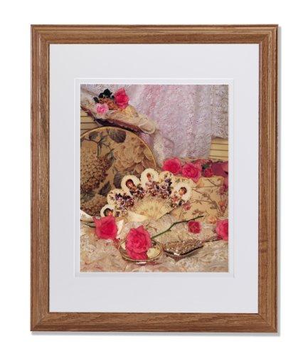 Oak Bedroom Vanity front-1075417