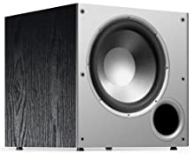 Polk Audio PSW10 10-Inch Monitor Series Powered Subwoofer Single Black