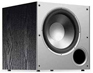 Polk Audio PSW10 10-Inch Monitor Series Powered Subwoofer (Single, Black)