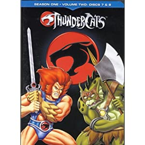 Thundercats Season  on Amazon Com  Thundercats   Season One   Volume 2  Disc 7   8   Bob