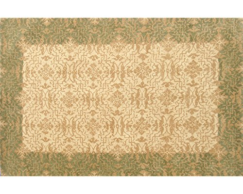 The Rug Market Mischa Green Area Rug  Size 5'x8'