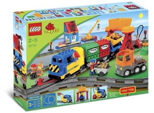 Lego Duplo Ville 3772 - Eisenbahn Super-Set