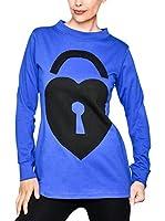 HHG Camiseta Manga Larga (Azul / Negro)