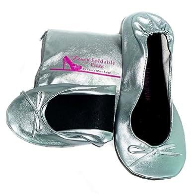 Foldable Portable Travel Ballet Flat Shoes