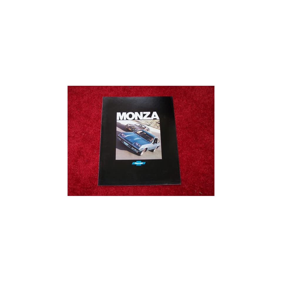 1977 CHEVROLET MONZA Sales Brochure Literature Book