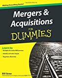 img - for Mergers and Acquisitions For Dummies by Bill Snow (2011-04-15) book / textbook / text book