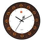 Frank Lloyd Wright Nathan Moore House 11.75 in. Wall Clock by Bulova