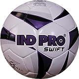 Indpro Unisex Swift Football 5 Black Purple