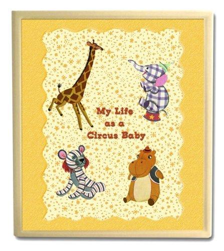 Dolce Mia Circus Animals Handmade Baby Memory Book - 1