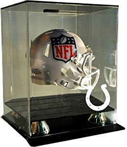 NFL Indianapolis Colts Floating Mini Helmet Display with Museum Quality UV Upgrade,... by Caseworks