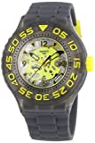 Swatch Men's Quartz Watch Scuba Libre Cuttlefish SUUM100 with Plastic Strap