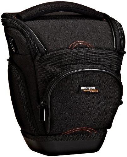 AmazonBasics Holster Camera Case for DSLR Cameras (Black)