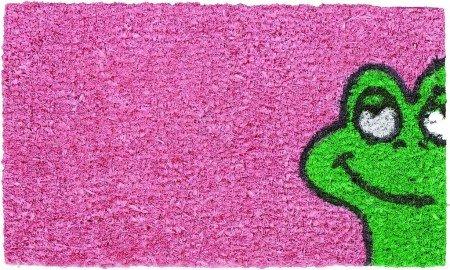 Kokos Fußmatte Kinder Coco Family Frosch pink