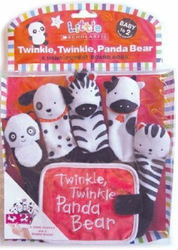 Twinkle, Twinkle, Panda Bear: A Hand-Puppet Board 