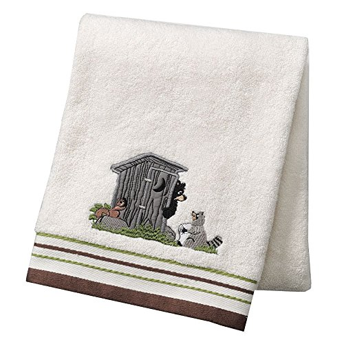"""Gotta Go"" Bathroom Shower Collection - 1-Piece Bath Towel"