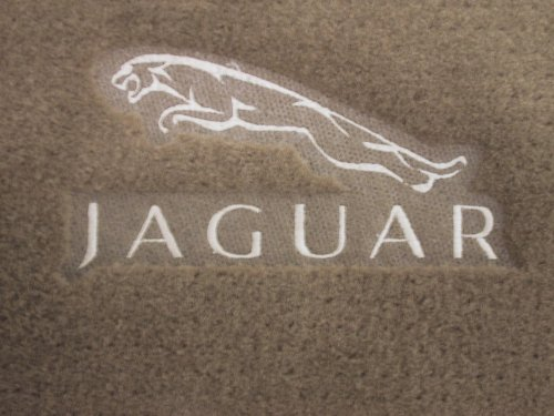 Jaguar Xj8 Beige Carpet Floor Mats With Jaguar Logo 1998