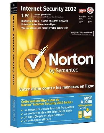 Norton internet security 2012 (1 poste, 1 an) - mise à jour