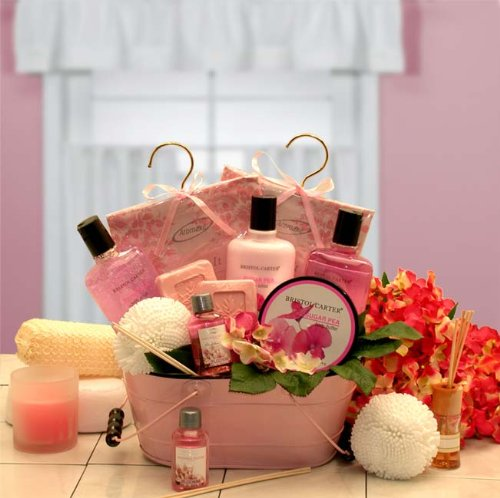 Mother's Day Gift Basket - Pretty in Pink Bath & Bady Spa