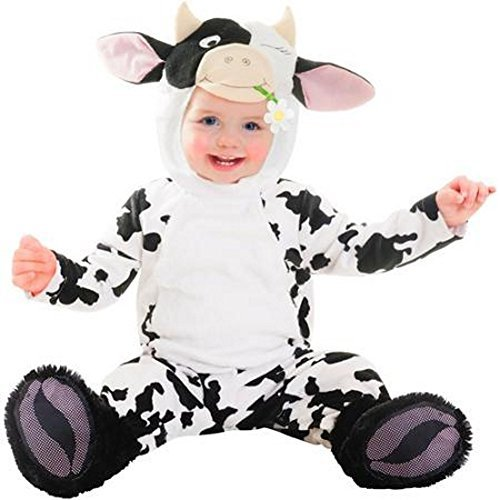 Goodmark Infant Boys & Girls Cutie Cow Costume Plush Baby Cow Suit (0-6 months)