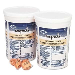 Easy-Paks Neutral Floor Cleaner Packets, 90/Tub, 2 Tubs/Carton JOD90653
