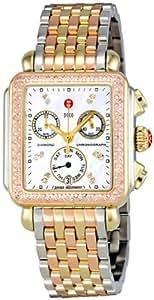 Michele Signature Deco Diamond Tri-Tone, Diamond Dial Mww06p000077