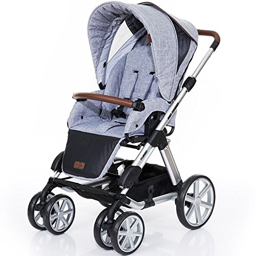 ABC Design Kombi-Kinderwagen Turbo 6 Style - Graphite Grey grau, braun