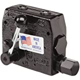 "Prince RDRS-150-16 Flow Control Valve, Adjustable Pressure Relief, Cast Iron, 3000 psi, 0-16 gpm, 1/2"" NPTF"