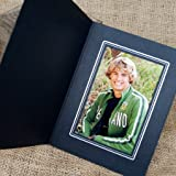 Tap Photo Frame, Buckeye 8x10 Black/Silver Folder (25 Pack) on recycled paper