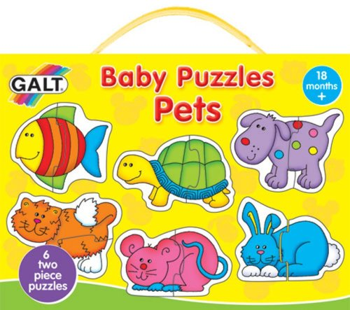 Picture of Fun Galt Baby Pets Puzzle (B00140ILCO) (Pegged Puzzles)