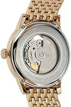 Claude Bernard Men's 85017 37RM BRIR Automatic Open Heart Analog Display Swiss Automatic Two Tone Watch