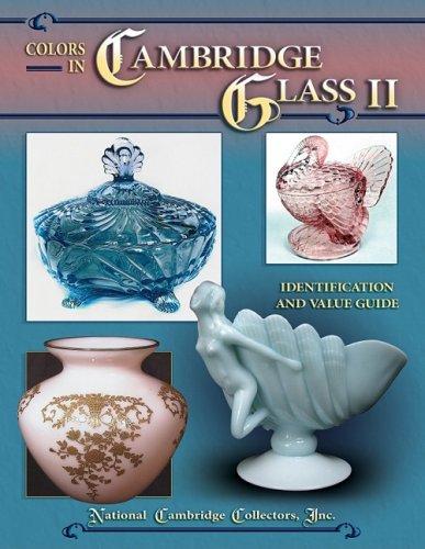 Colors in Cambridge Glass II
