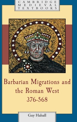 Barbarian Migrations And The Roman West, 376 - 568 (Cambridge Medieval Textbooks) front-995042