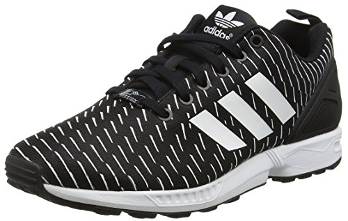 Adidas Zx Flux, Espadrillas Uomo, Nero (Core Black/Core Black/Footwear Whitecore Black/Core Black/Footwear White), 44 EU