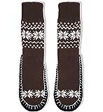 Basico Men Knitted Home Slipper Socks with NON Slip Bottom