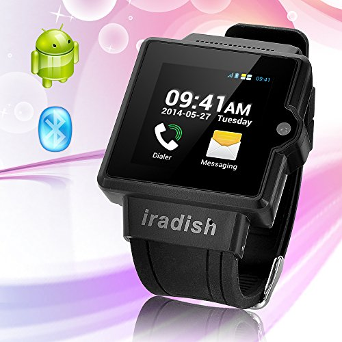 Oceantree(Tm) New 3G Watch Phone Touch Screen Watch Phone Android 4.0 Dual-Core Cpu Gps Wifi Bluetooth3.0 Fm Radio (Black)