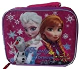 Disney Frozen Officially Licensed Lunch Bag Lunchbox Family Forever Anna Elsa Olaf