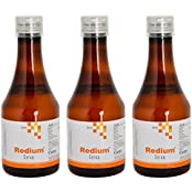 Redium Dietary Nutritional Syrup - 200 Ml, Pack Of 3