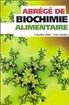 Abr�g� de biochimie alimentaire