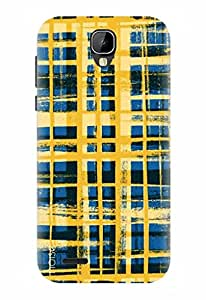 Noise Designer Printed Case / Cover for Intex Cloud Crystal 2.5D / Patterns & Ethnic / Brush Strokes